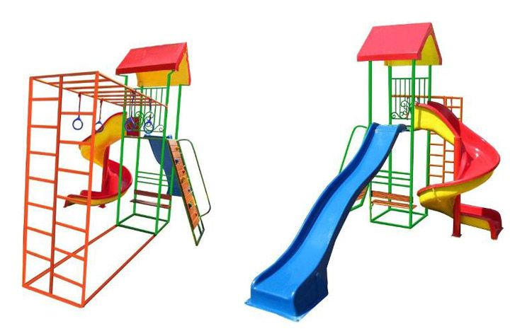 Jungle Gym Double Slide 160R
